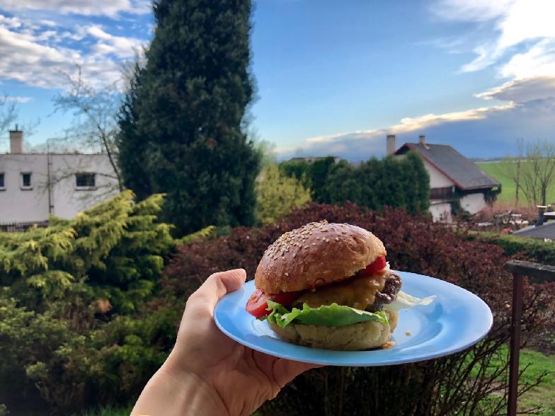 Hamburger zdravě