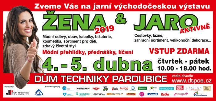 Přednáška - Zdravá strava nejen na jaře – ŽENA A JARO 2019 – 5.4.2019, Pardubice