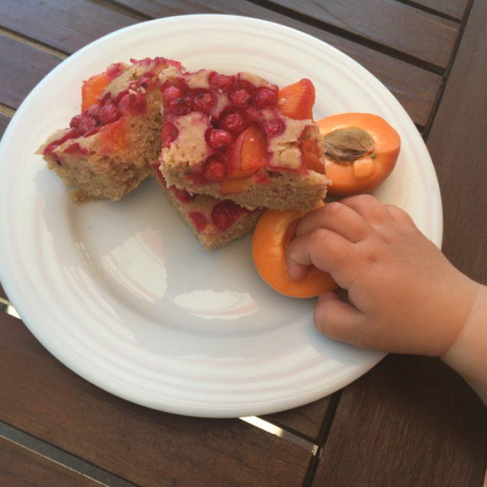 Bublanina ze špaldové mouky s ovocem