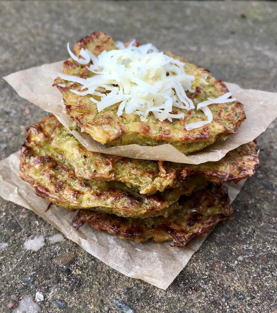 Jednoduchý recept na brokolicové placky bez mouky