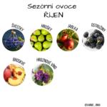 Sezónní ovoce a zelenina v říjnu